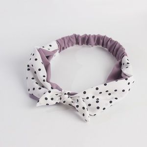 handmade single knot dotted headband